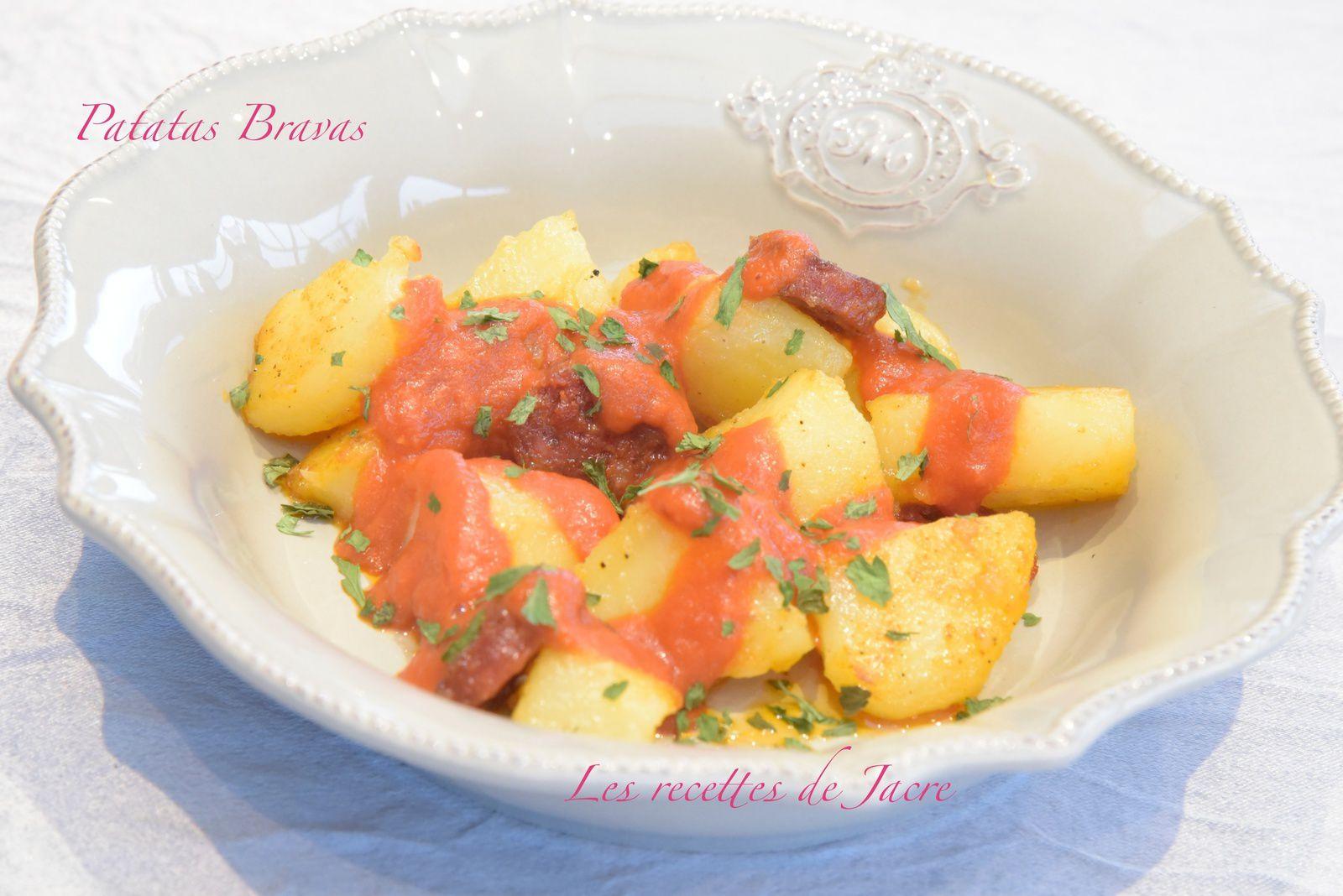 Patatas bravas et chorizo