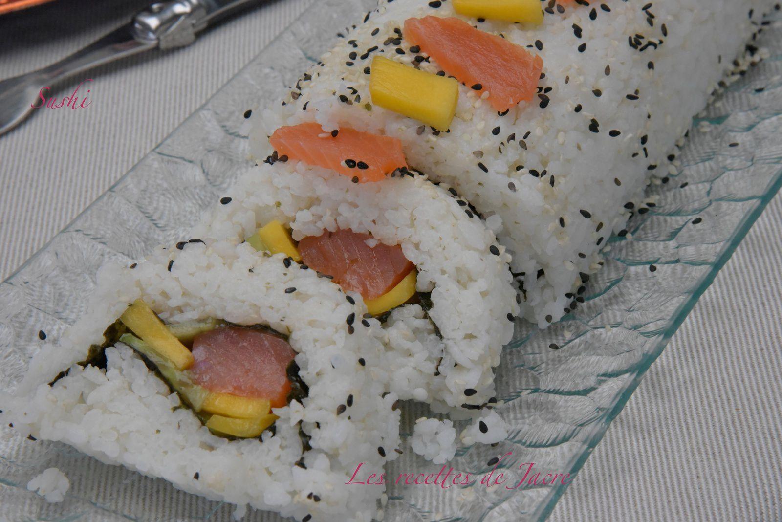 sushi bûche