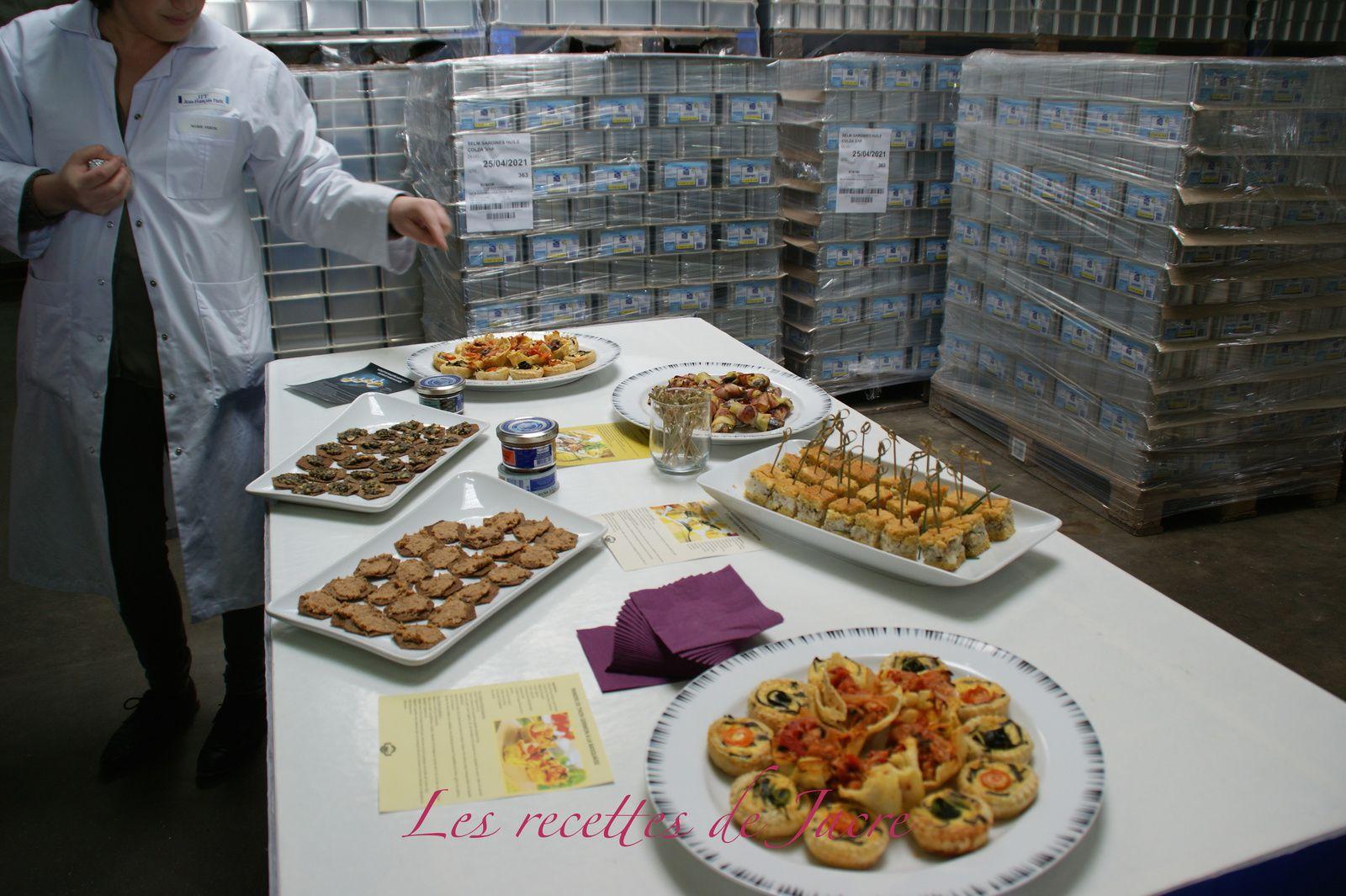Visite à la Compagnie Bretonne du Poisson