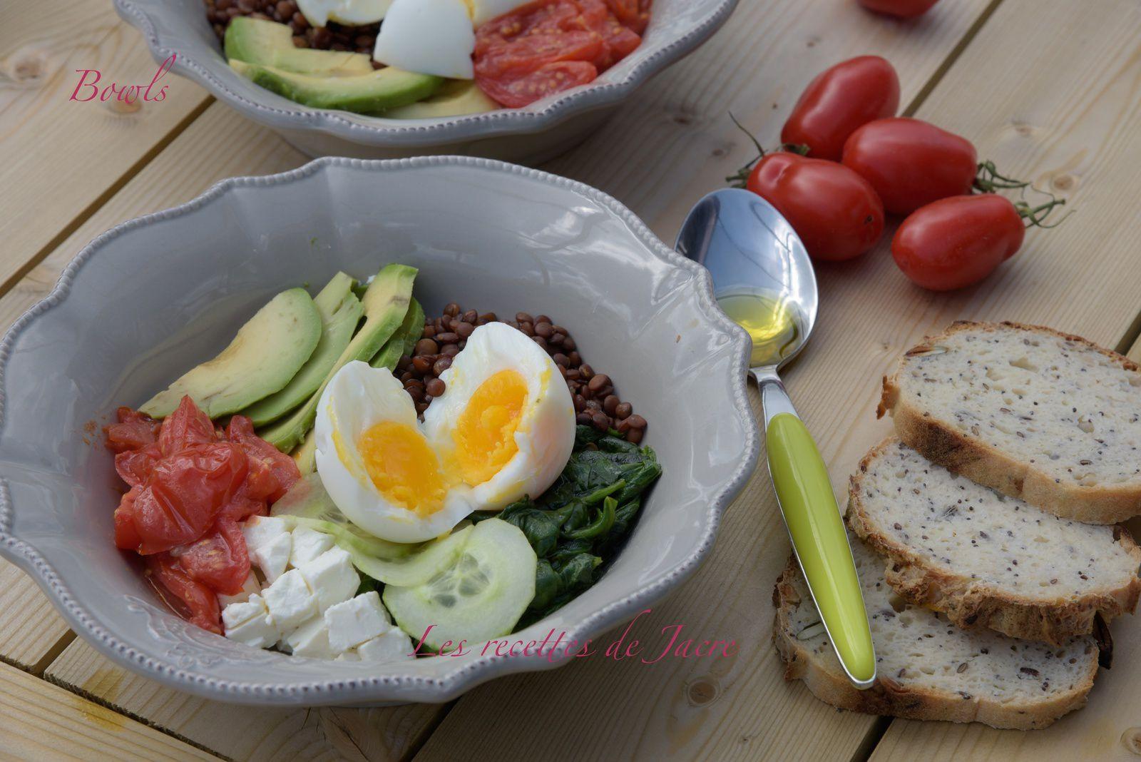 Bowl ou salade en bol
