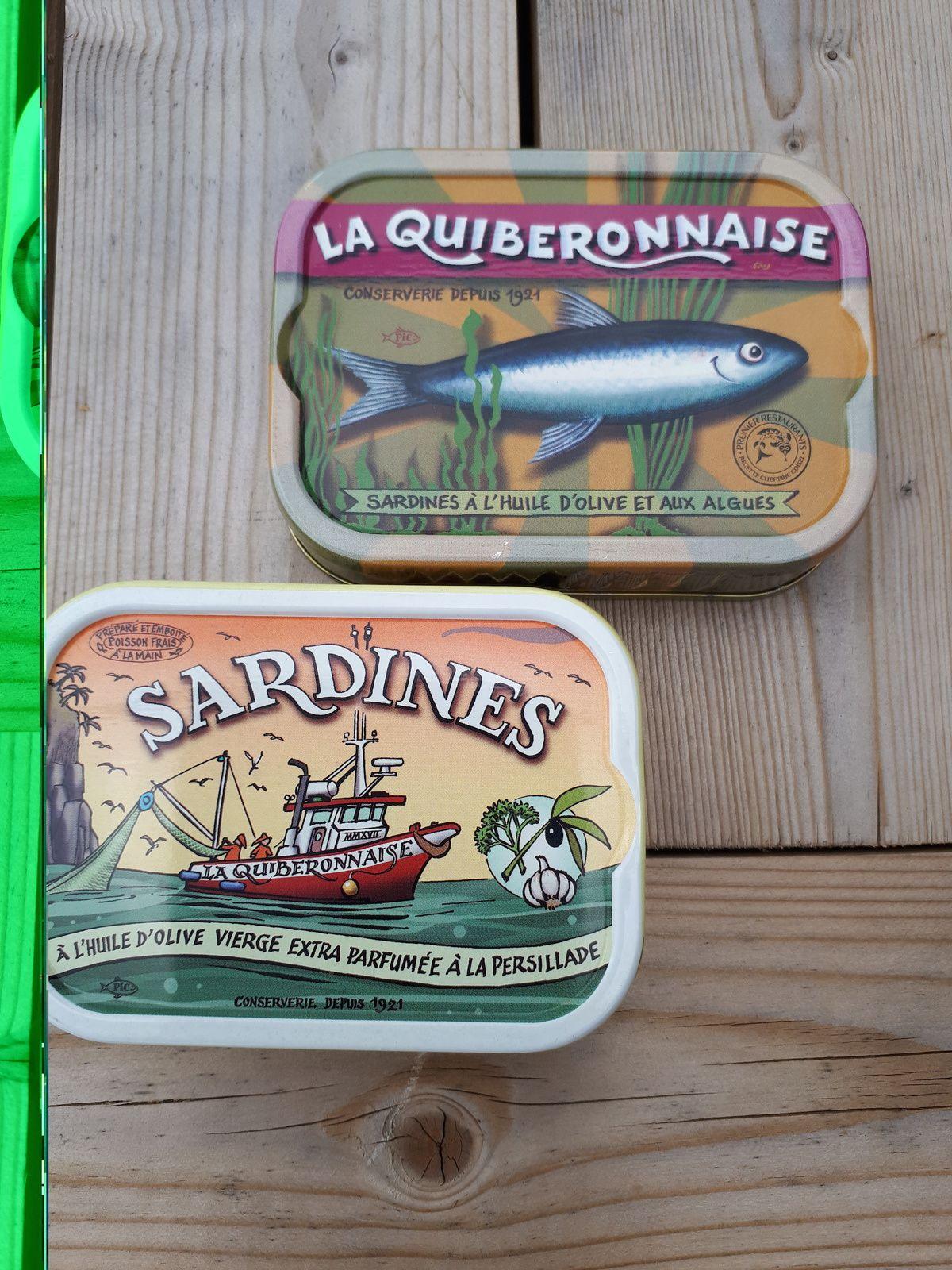 Makis à la sardine