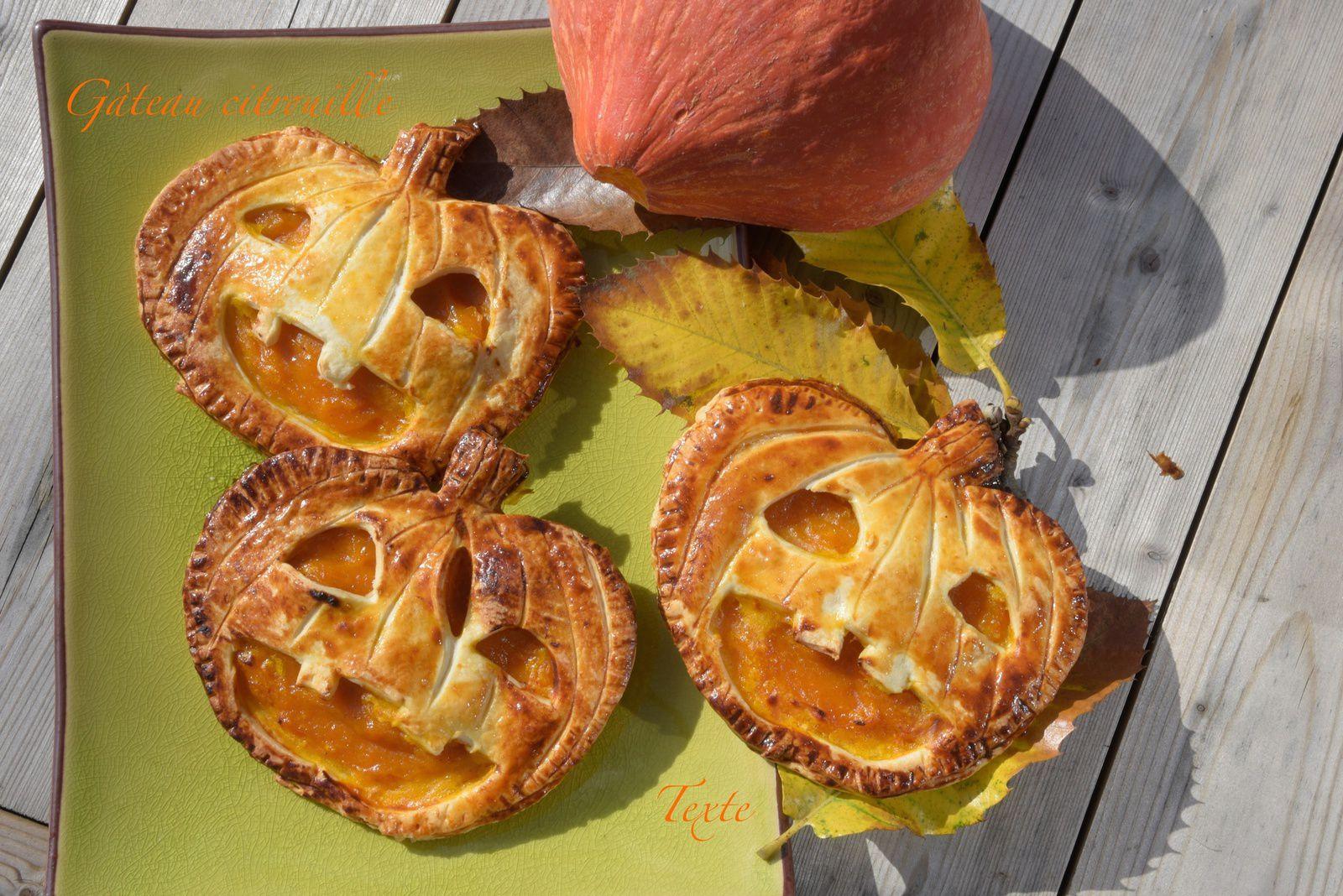 Gâteaux citrouille au potimarron et pommes