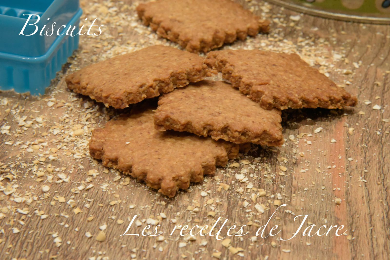 Biscuits au son d'avoine