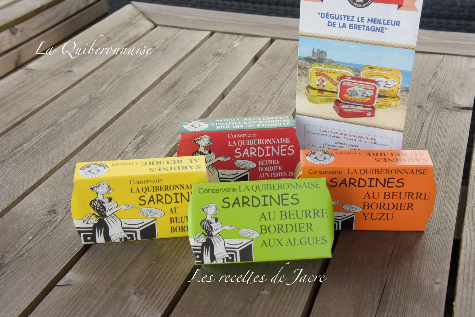 """sardines """"La Quiberonnaise"""""""
