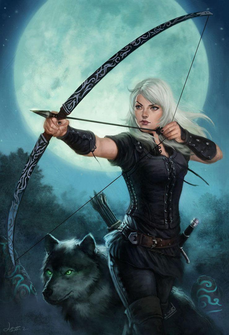 J'aime les fées et les archères.