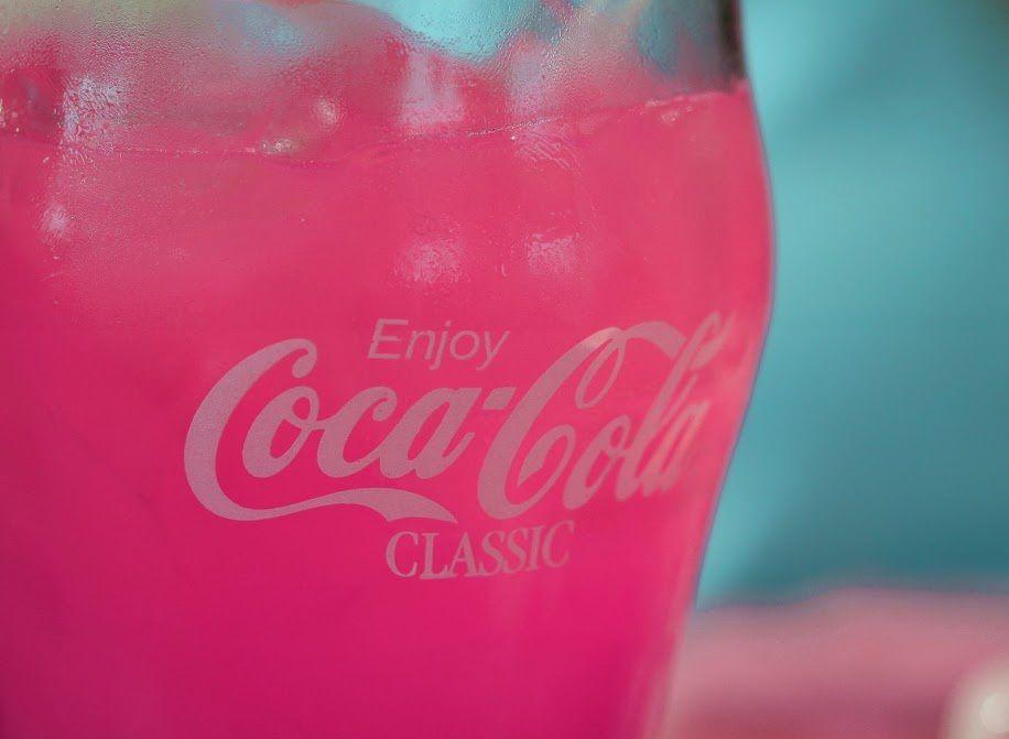Coca-Cola - Verre - Pink - Rose - Pictures Free