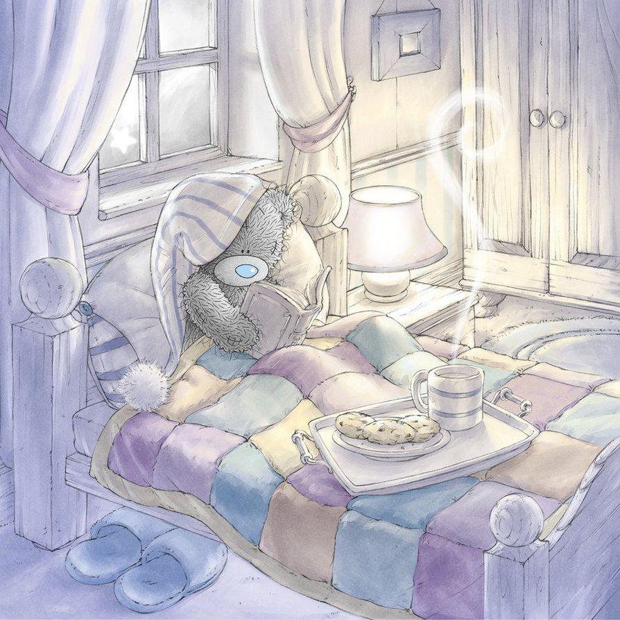 Tatty Teddy - Bonne Nuit - Picture - Free