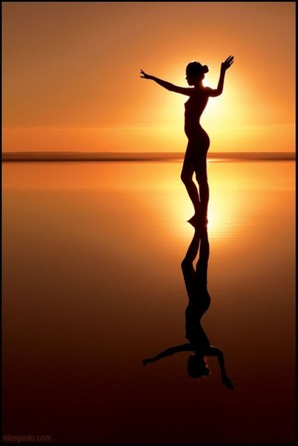 Femme - Silhouette - Soleil - Pictures - Free