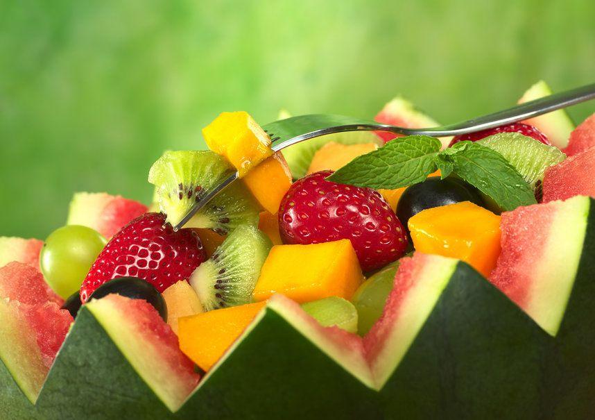 Salade - Fruits - Melon - Goûter - Wallpaper - Free