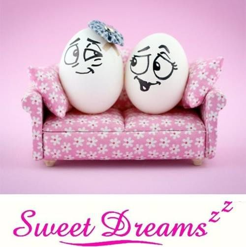 Oeufs - Couple - Sofa - Sweet dreams - Picture - Free