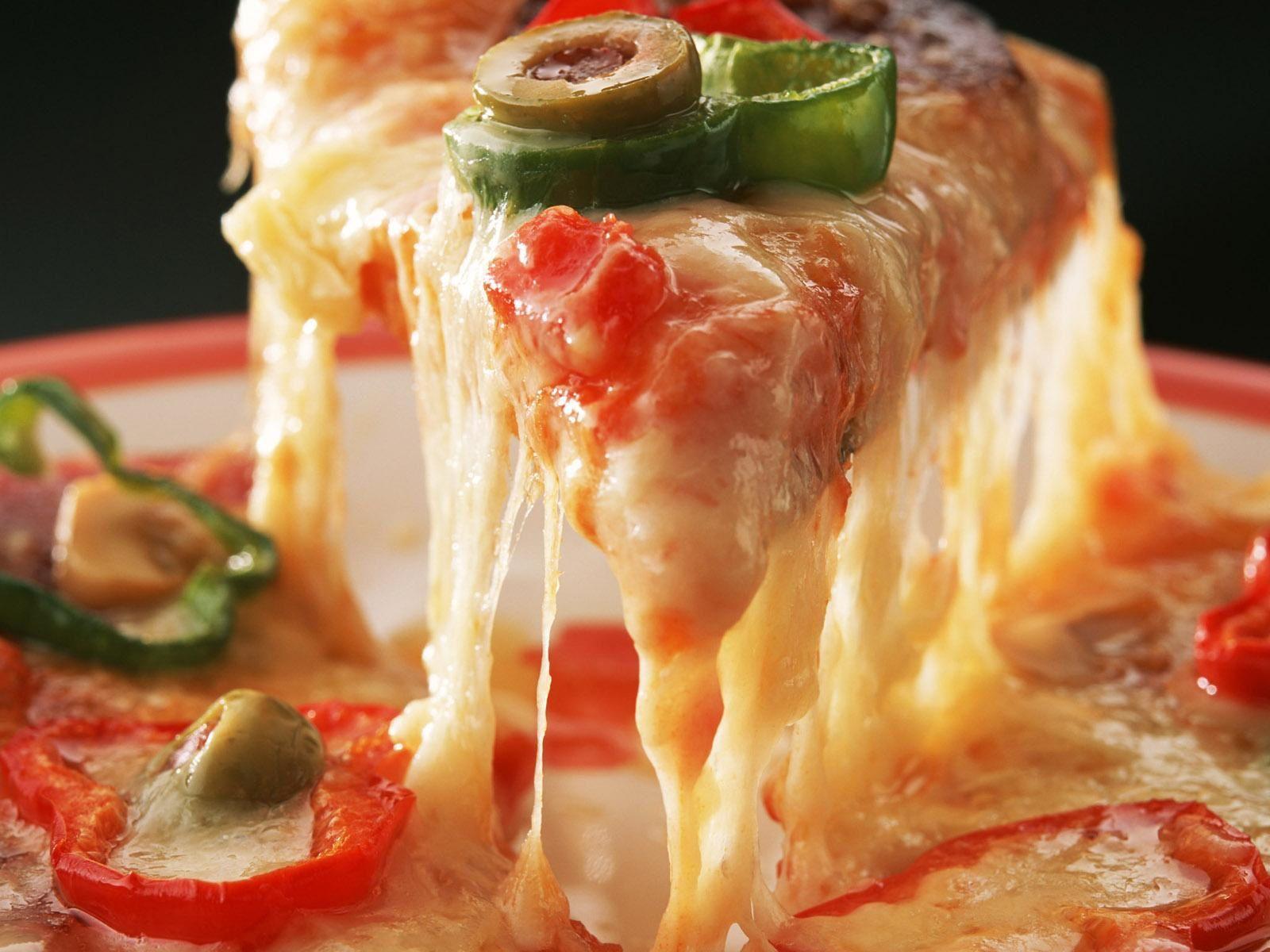 Bon appétit - Pizza - Fromage - Wallpaper - Free