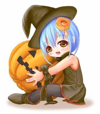 Sorcière - Fille - Manga - Halloween 2015  - Picture - Free