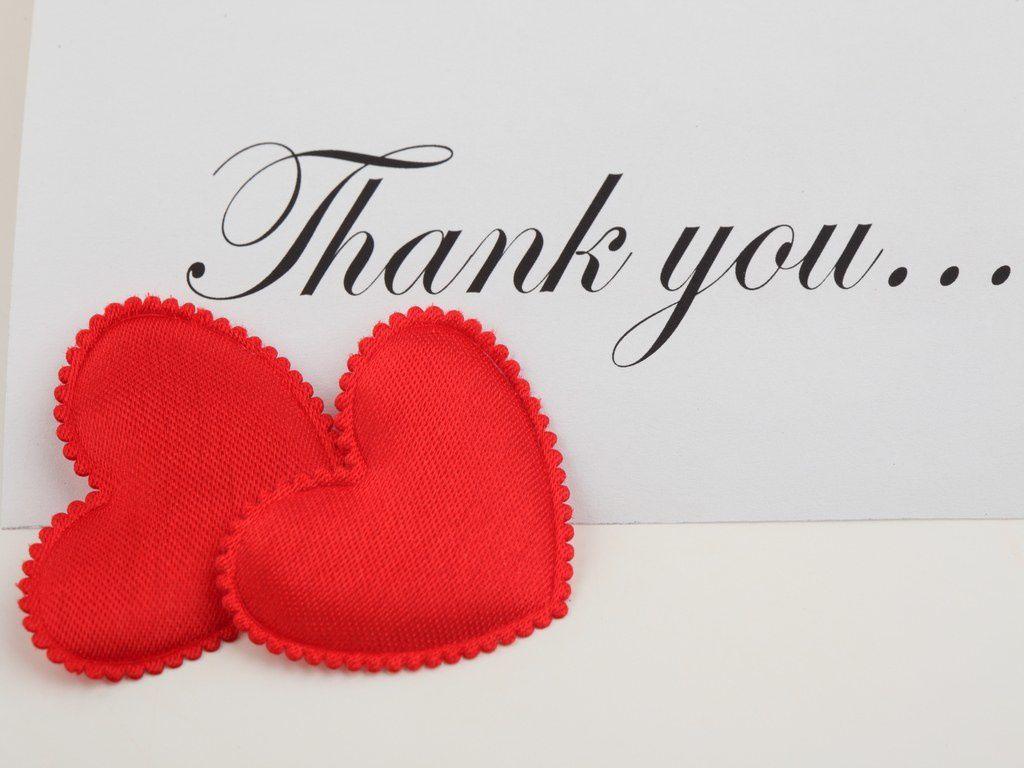 Thank you  - Cœurs - Amour - Wallpaper - Free