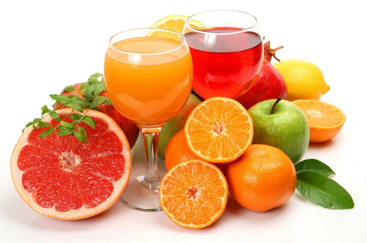 Jus de Fruits - Oranges - Pamplemousses - Wallaper - HD
