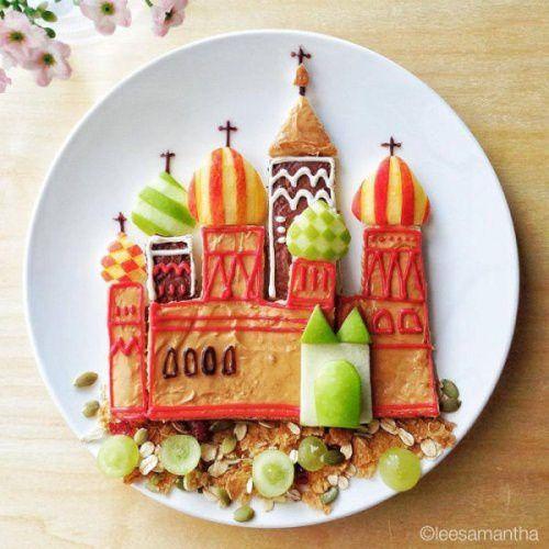 Bon appétit - Assiette - Russie - Idées pour faire manger les enfants -