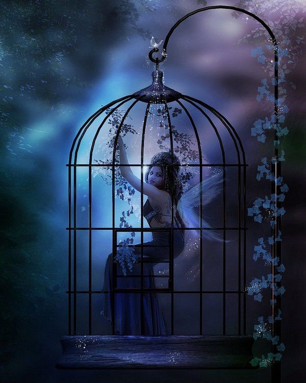 Femme - Cage - Gothic Fantasy - Picture - Free