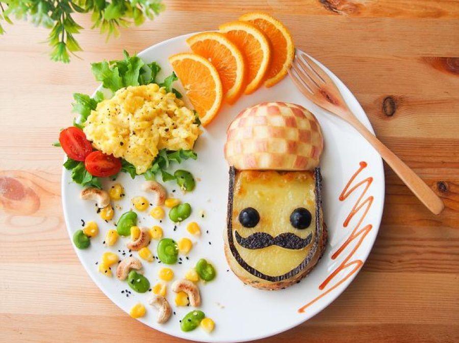 Bon appétit - Assiette - Idées pour faire manger les enfants - Picture - Free