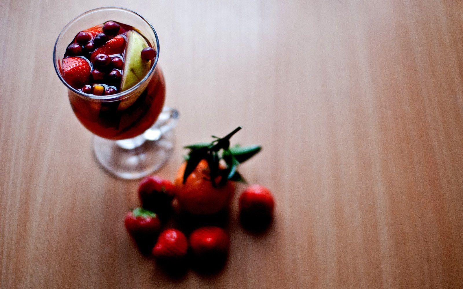 Drink - Fruits - Fraises - Wallpaper - Free