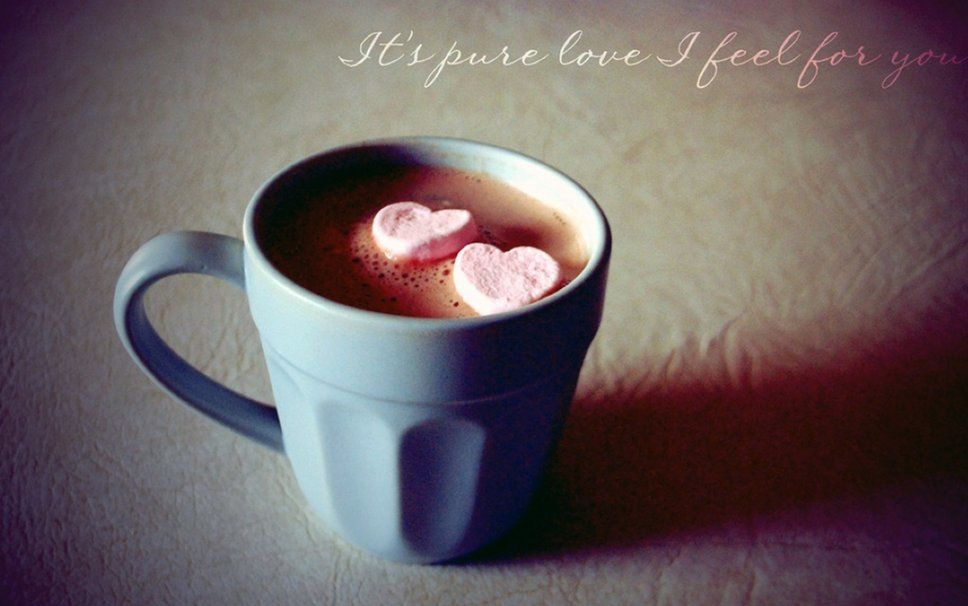 It's pure love - I feel for you - Wallpaper - Free