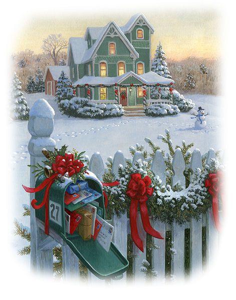 Maison - Neige - Noël - Picture - Free