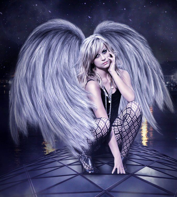Femme - Sexy - Angel - Picture - Free