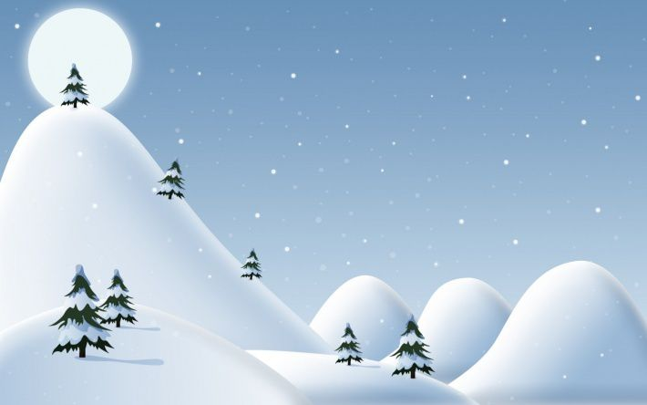 Montagne - Hiver - Neige - Picture - Free
