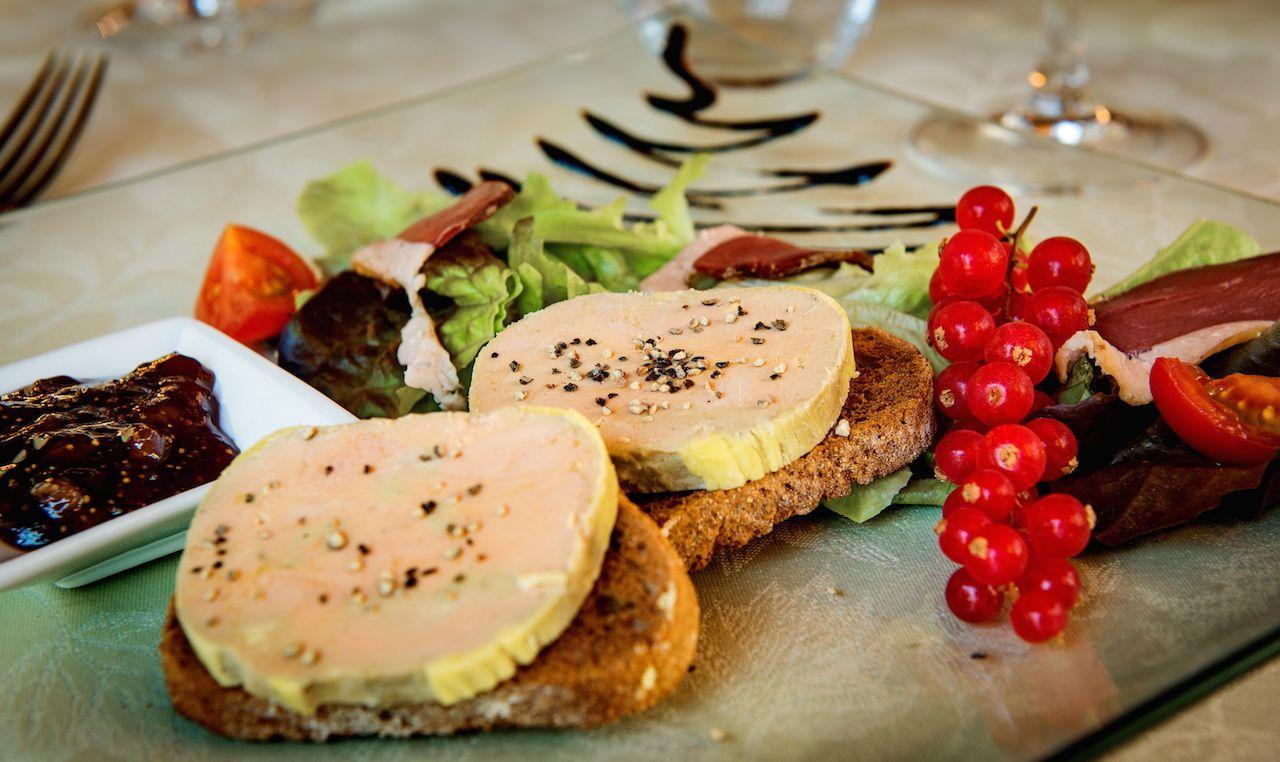 Bon appétit - Foie Gras - Table - Fête - Wallpaper - Free