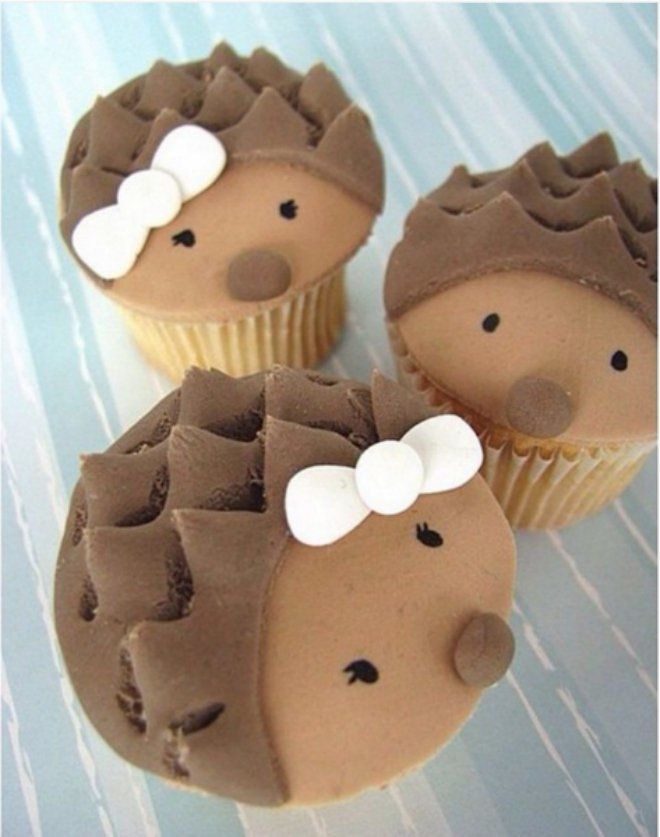 Hérissons - Cupcakes - Pâtisserie - Picture - Free