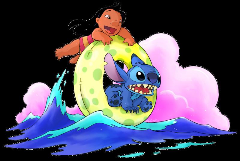 Lilo & Stitch - Disney - Render - Tube - Gratuit