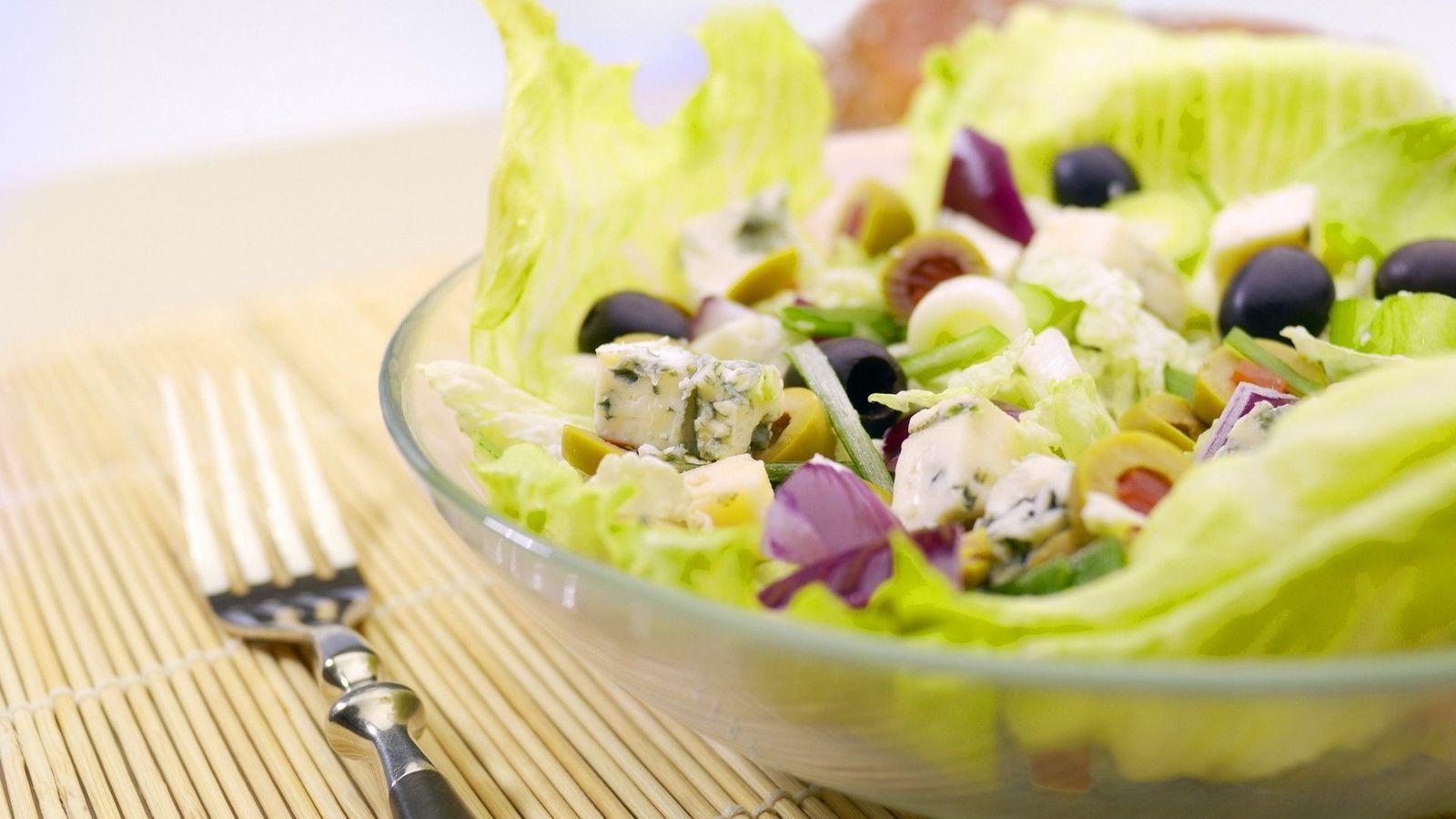 Bon appétit - Salade - Wallpaper - Free