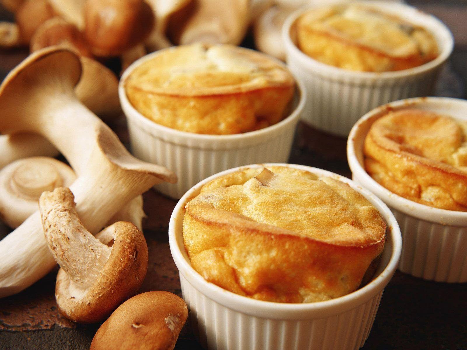 Bon appétit - Nourriture - Soufflé - Champignons - Photographie - Wallpaper - Free