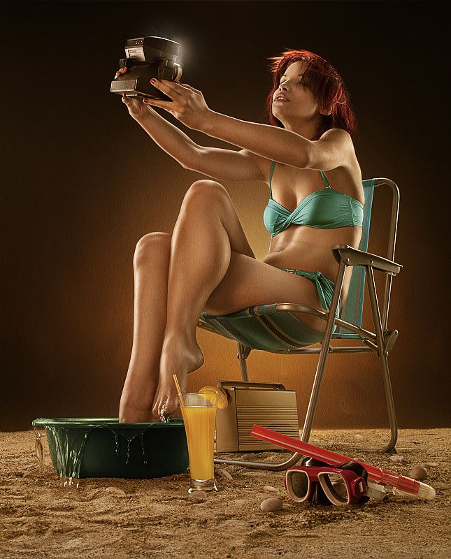 Femme - Rousse - Sexy - Picture - Free