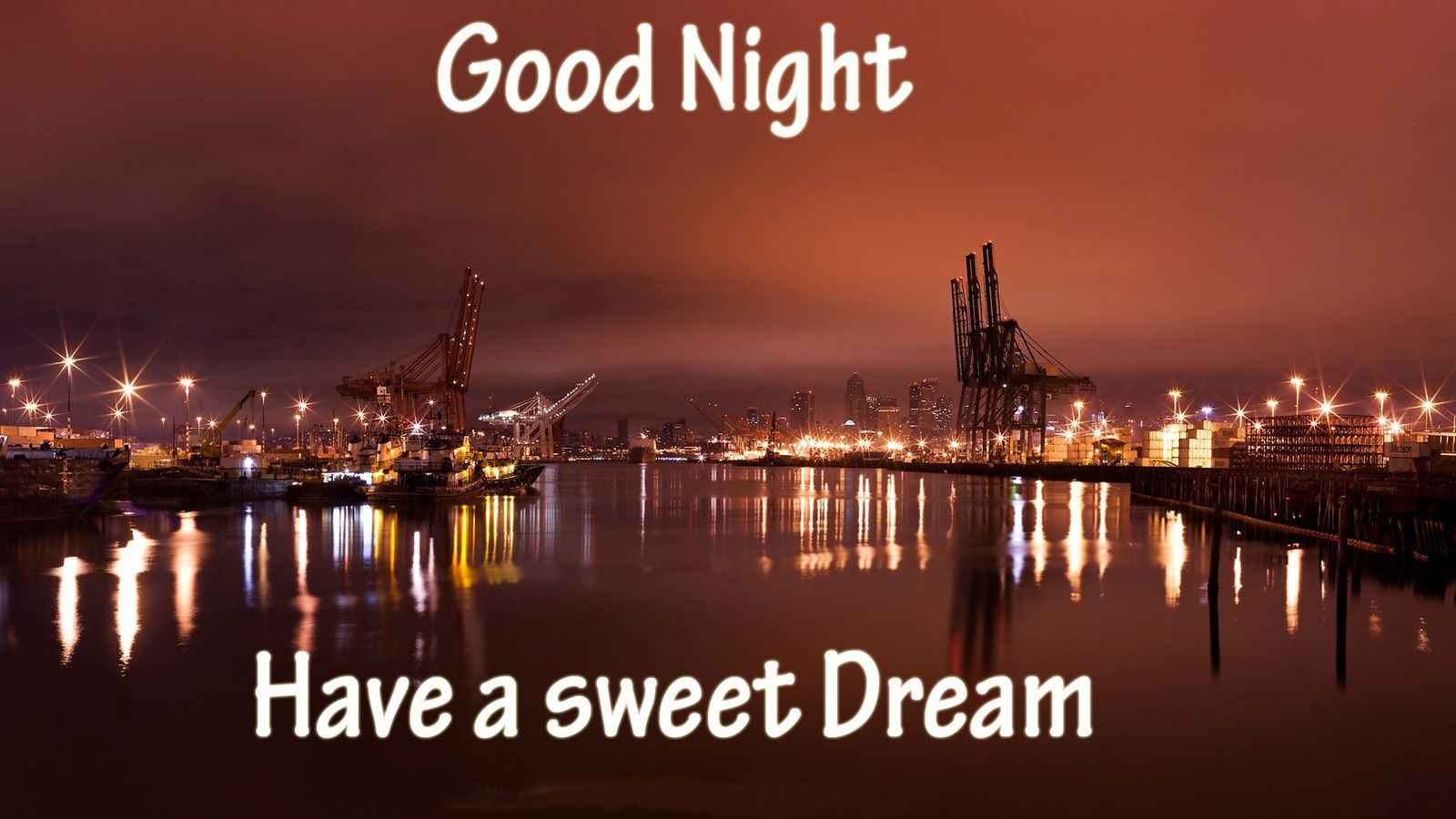 Good Night - Have a sweet Dream - Wallpaper - Free