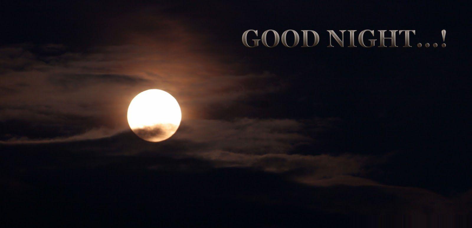 Good Night - Lune - Nuit - Wallpaper - Free