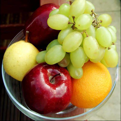 Fruits - Raisins - Pommes - Orange - Picture - Free