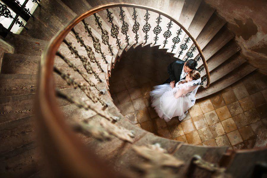 Couple - Mariage - Escalier - Décoration - Wallpaper - Free