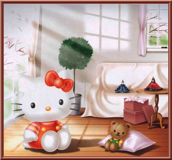 Hello Kitty - Ourson - Picture - Free