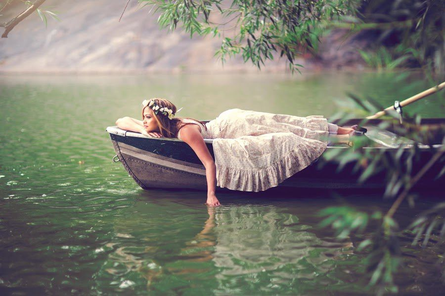 Nature - Barque - Femme - Picture - Free