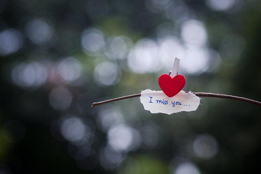 I miss you - Coeur - Message - Picture - Free