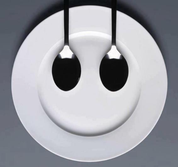 Bon appétit - Assiette - Cuillères - Humour - Picture - Free