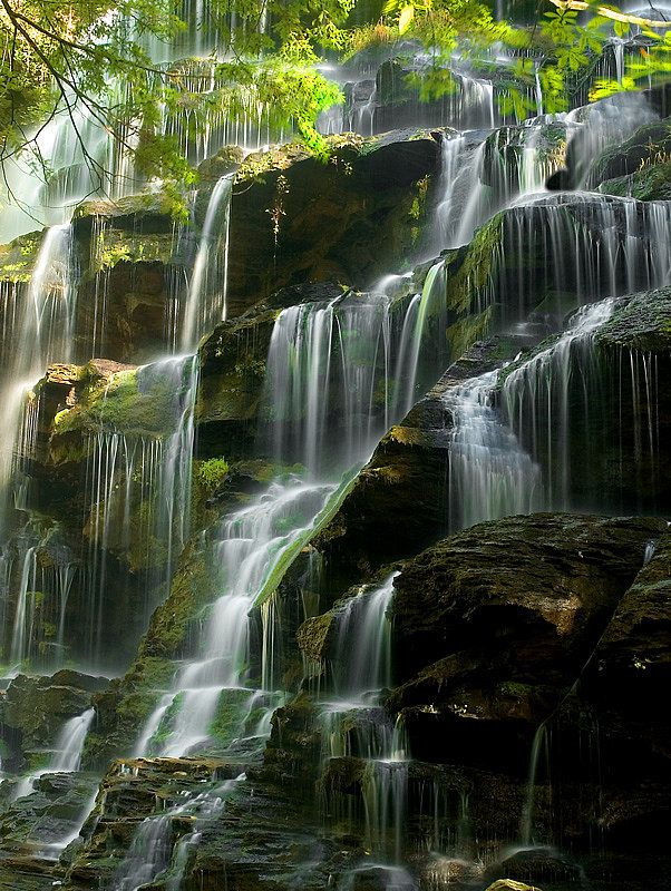 Nature - Cascade - Paysage - Picture - Free