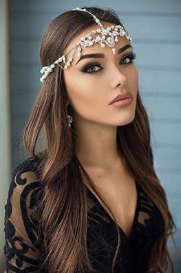 Natali Danish - Brune - Visage - Regard - Picture - Free