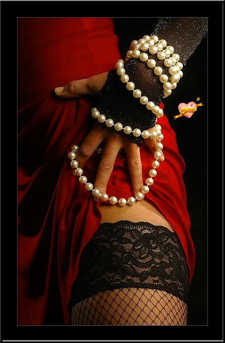 Femme - Sexy - Perles - Picture - Free