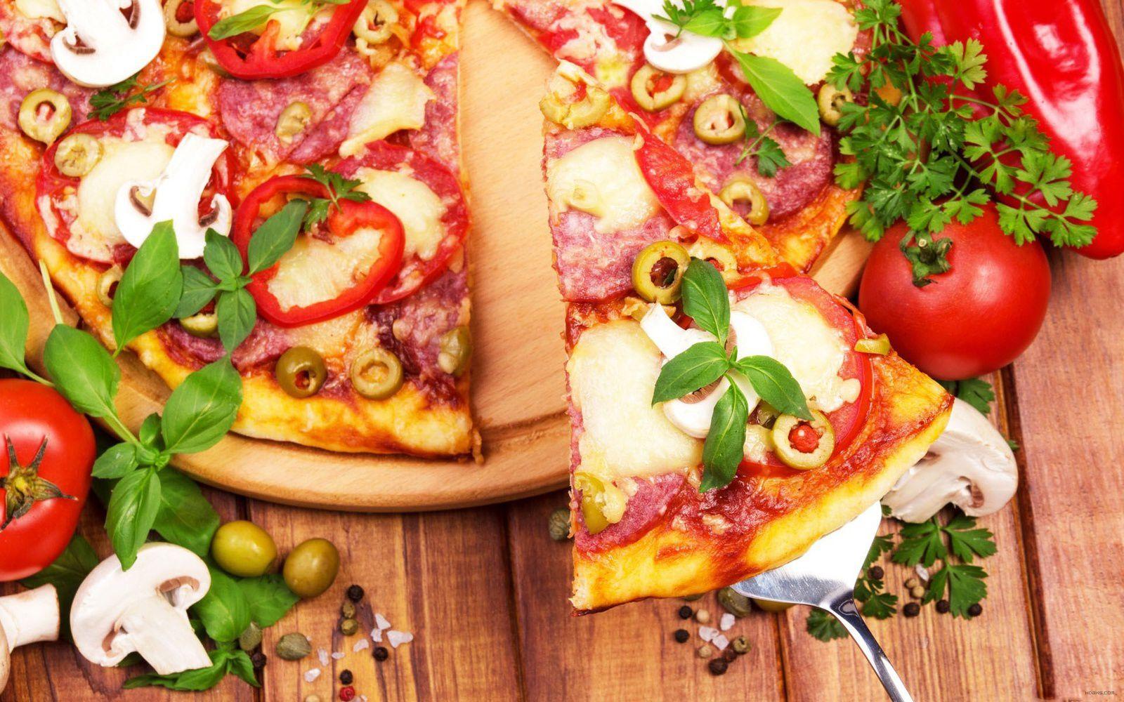 Bon appétit - Pizza - Nourriture - Wallpaper - Free