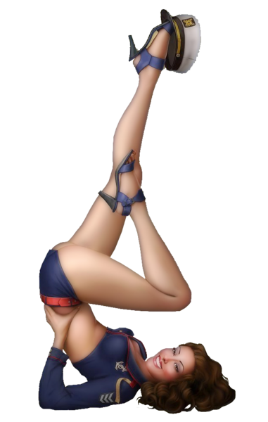Femme - Brune - Sexy - Render-Picture - Free