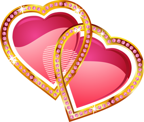 Coeurs - Amour - Render - Tube - Gratuit