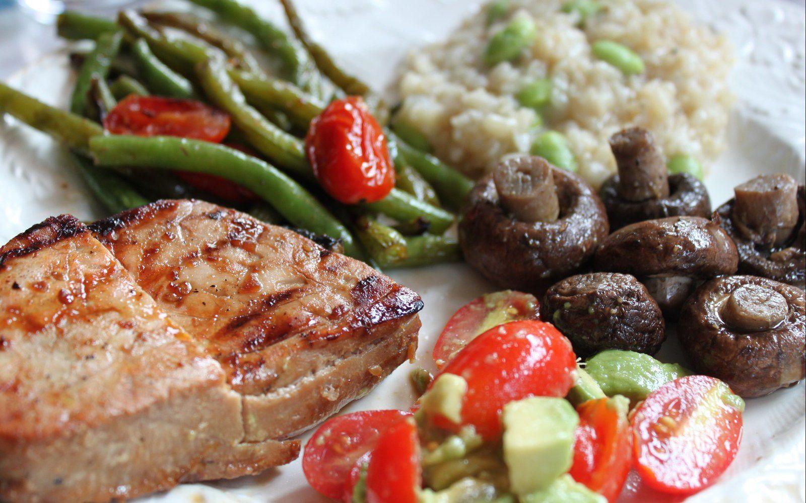 Bon appétit - Viande - Légumes - Wallpaper - Free