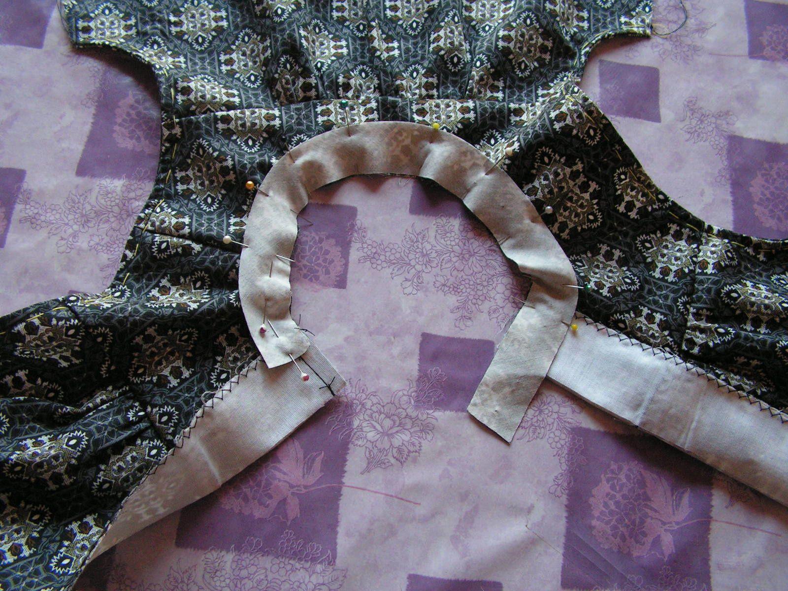 Une robe chasuble pour Juliette