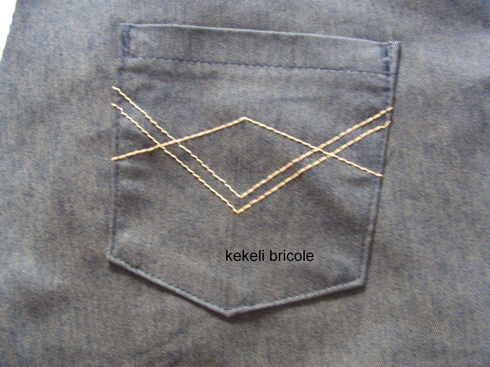 Coudre un jean