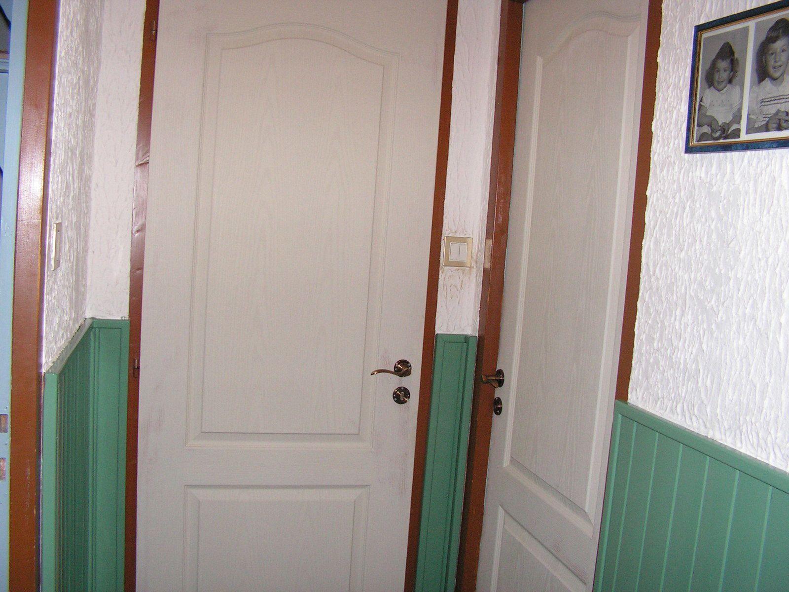 Peinture porte de mon couloir